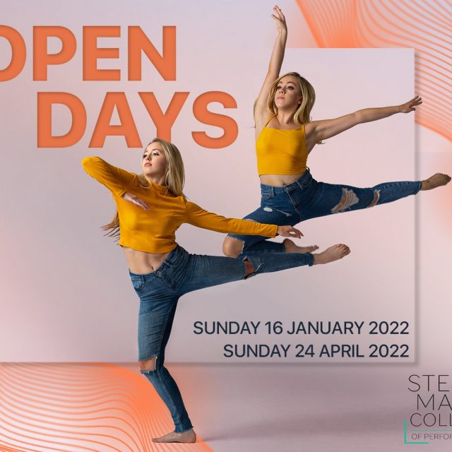 Open Days for 2022!